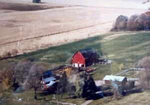 Miller Barn - Aerial