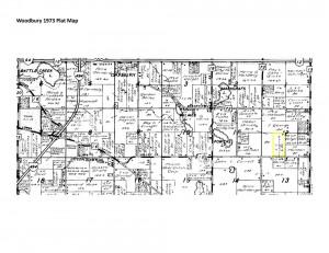 Woodbury Plat Map - 1973