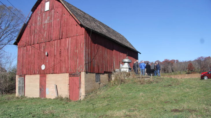 State grant boosts effort to save historic Miller Barn in Woodbury